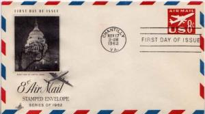 United States, First Day Cover, Postal Stationery