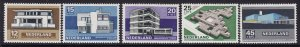 Netherlands #B444-48 F-VF Mint NH ** Contemporary Architecture