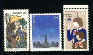 Can #1060-62   -1     used VF 1985 PD