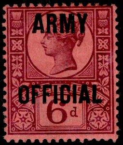 SGO45, 6d purple/rose-red, M MINT. Cat £60.