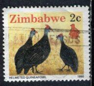 Zimbabwe; 1990: Sc. # 615: O/Used Single Stamp