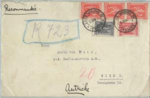 77546 - GREECE  - Postal History -  REGISTERED  COVER  to  ITALY  1926