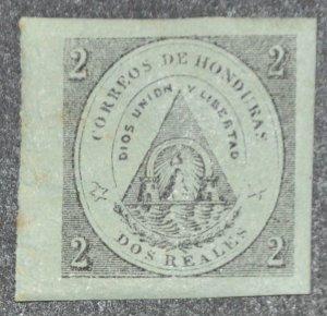 DYNAMITE Stamps: Honduras Scott #1 – MINT hr