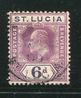 St Lucia #54 used