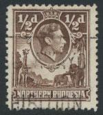 Northern Rhodesia  SG 26  SC# 26 Used  see detail and scan