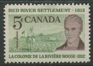STAMP STATION PERTH Canada #397 Lord Selkirk 1962 MNH CV$0.35