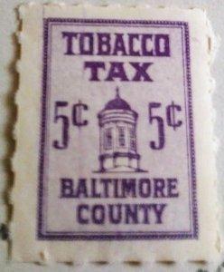 US Tobacco Tax Revenue BOB MLH