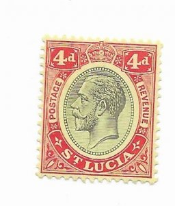 St. Lucia #85 MNH - Stamp - CAT VALUE $1.40+