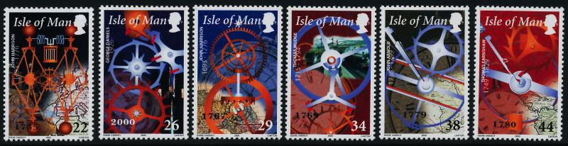 Isle of Man 851-6 MH History of Time