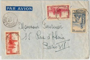 44847  - IVORY COAST Côte d'Ivoire - POSTAL HISTORY - COVER to FRANCE 1937