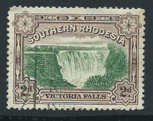 Southern Rhodesia SG 29 used 1 short top left corner perf
