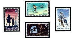 British Virgin Is 198-201 MNH 1969 Treasure Island    (ap1468)