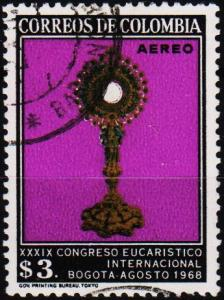 Colombia. 1968 3p S.G.1225 Fine Used