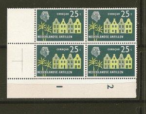 Netherlands Antilles 249 Curacao Block of 4 MNH