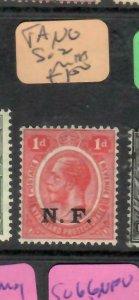 TANGANYIKA  (P01006B)  KGV  NFF   SG 2   1D   MNH