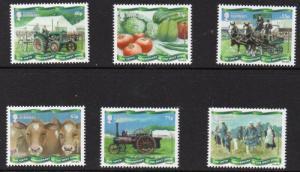 Guernsey Sc 1220-25 2013  West Show Anniversary. stamp set mint NH