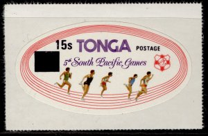 TONGA QEII SG644, 15s on 20s South Pacific games, NH MINT.