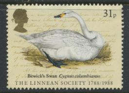 Great Britain SG 1382 -  Used - Linnean Society