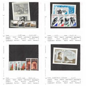 Lot of 76 Germany DDR MNH Mint Stamps Scott Range 2647 - 2848 #141335 X R