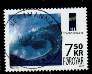 Faroe Islands Sc 480 2007 Wave Energy stamp used