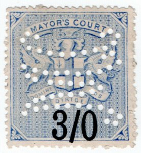 (I.B) QV Revenue : Mayor's Court 3/-