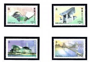 Hong Kong 788-91 MNH 1997 Landmarks