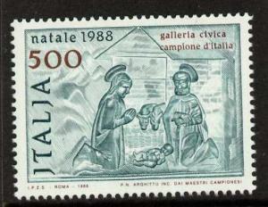 Italy 1759 MNH Christmas