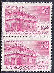 Chile - Scott #411 - Pair - MNH - SCV $2.50