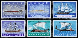 Greece Scott 618-623 (1958) Mint LH VF Complete Set C