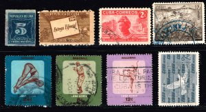 CUBA STAMP USED Stamps Collection Lot #3