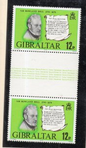 Gibraltar 1979 QEII Early Issue Fine Mint Unmounted 12p. NW-99282