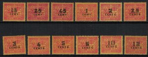 Indochina #J57-68*  CV $3.70