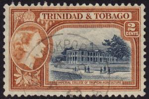Trinidad & Tobago - 1953 - Scott #73 - used - College