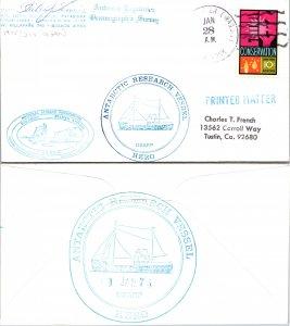 1975 R/V HERO MULTI CACHET + SIGNED, 1975, Polar