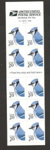 3048a Blue Jay Booklet Of 10 Mint/nh Selling FREE SHIPPING
