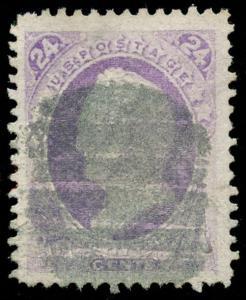 momen: US Stamps #153 Used XF Jumbo