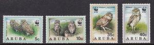 Aruba, Fauna, WWF, Birds MNH / 1994