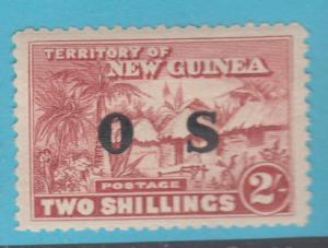 NEW GUINEA O9 OFFICIAL MINT HINGED OG NO FAULTS EXTRA FINE