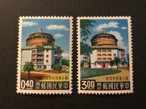 ICOLLECTZONE Republic of China's 1243-1244 VF Hinged