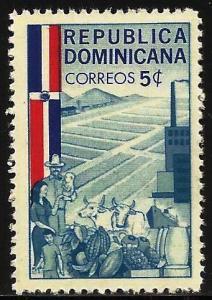 Dominican Republic 1962 Scott# 568 MNH