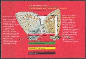 1993 Netherlands 1473/B38 Butterflies