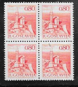 Yugoslavia #562 Block of 4   (MNH) CV $24.00