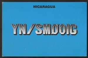 QSL CARD YN/SMOOIG,92,Olof OlleHagg,Managua,Nicaragua(Q4494)
