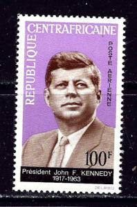 Central Africa C24 MNH 1964 John F Kennedy