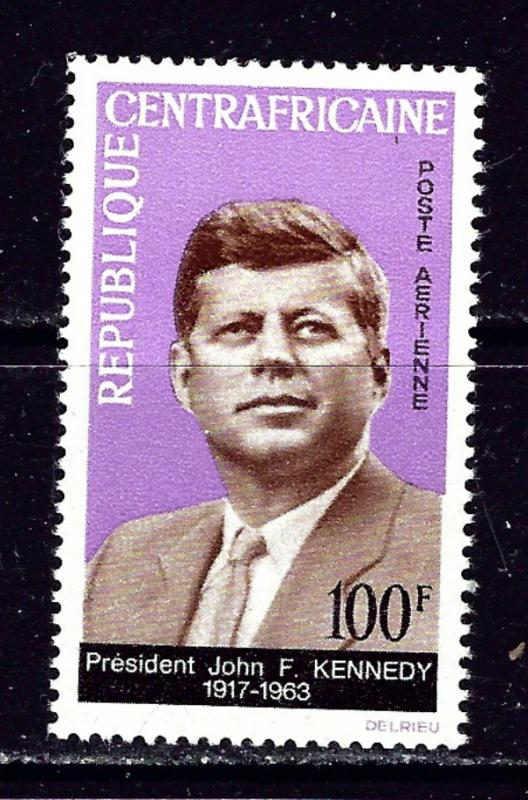Central Africa C24 MNH 1964 John F Kennedy