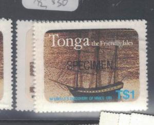 Tonga SC 489-2 Specimen MNH (8dsw)