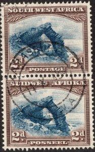 Sc# 111 - South West Africa - 1937 - Used - CDS cancel - VF - superfleas - cv$9