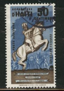 HAITI Scott Co6  1962 official airmail cto