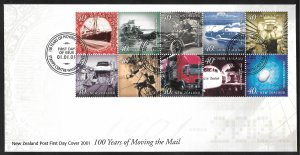 New Zealand First Day Cover [7788]