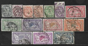 COLLECTION LOT OF 14 FRANCE 1900+ CV + $ 24